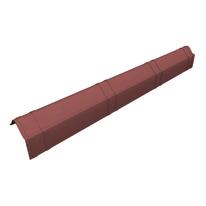 Scossalina Onduline Slim in fibrobitume color rosso sfumato, L 104 cm