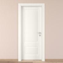 Porta da interno battente Shibuya bianco 60 x H 210 cm sx