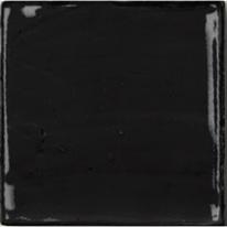 Piastrella Natura 13 x 13 cm nero