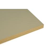 Pannello compensato multistrato pioppo prefinito bianco 18 x 1250 x 2500 mm