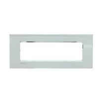 Placca 7 moduli BTicino Livinglight Air palladio