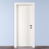 Porta da interno battente Keyboard white bianco 60 x H 210 cm sx