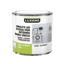 Smalto manounica Luxens all'acqua Grigio Granito 5 satinato 0.5 L