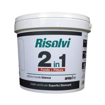 Idropittura lavabile bianca Arcoline 2in1 4 L