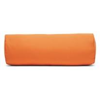 Cuscino Cilindrico arancione Ø 20 x 60 cm