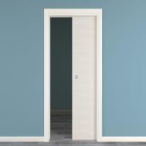 Porta da interno scorrevole Touch bianco matrix 70 x H 210 cm reversibile