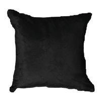 Cuscino Suedine nero 50 x 50 cm
