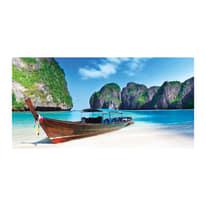 quadro su tela Paradise beach 50x100