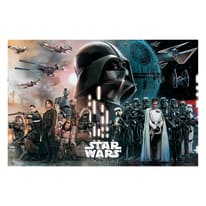 Poster Star Wars II 91,5 x 61 cm