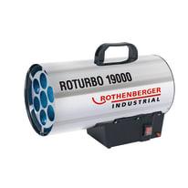 Generatore di aria calda Riscaldatore a gas roturbo 19000 18 W