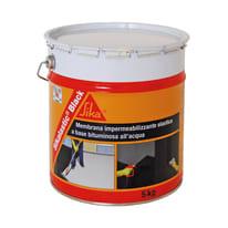 Membrana liquida sikagard 570 w sika grigia 5 kg prezzi e for Guaina bituminosa leroy merlin