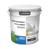 Idropittura lavabile bianca Luxens 14 L