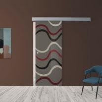 Porta da interno scorrevole Carpet 4 88 x H 215 cm dx