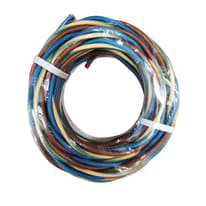 Cavo unipolare H07V-K 1 mm marrone - blu - giallo/verde, matassa 5 m