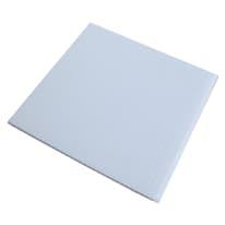 Lastra polionda bianco 2000 x 1000  mm, spessore 2,5 mm