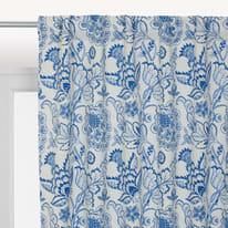 Tenda Flowers blu 140 x 280 cm