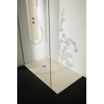 Piatto doccia resina Liso 160 x 100 cm grigio perla