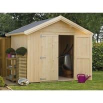 casetta in legno grezzo Melk 5,59 m², spessore 19 mm
