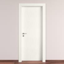 Porta da interno battente Fence bianco 70 x H 210 cm dx