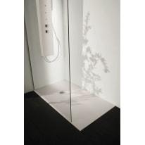 Piatto doccia resina Liso 120 x 100 cm ecrù