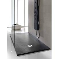 Piatto doccia poliuretano Soft 120 x 70 cm nero