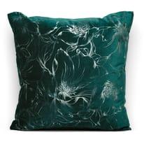 Cuscino Amalia verde retro tinta unita 45 x 45 cm