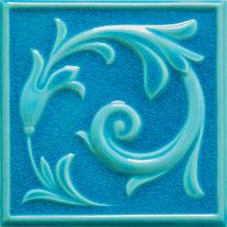 Formella Sardegna azzurro 10 x 20 cm