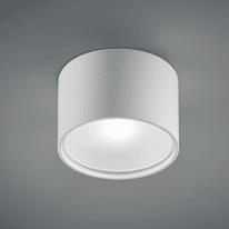 Plafoniera Cube Round d11.3 bianco L 11,3 x H 7,5 cm