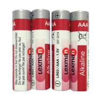Pila alcalina ministilo AAA Lexman