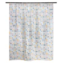 Tenda doccia Dot multicolor L 180 x H 200 cm