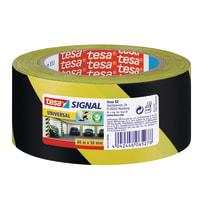 Nastro segnaletico Signal Tesa giallo e nero 66 m x 50 mm
