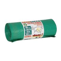 Sacco rifiuti GranSacco 115 x 80 cm verde 10 pezzi