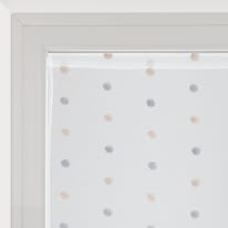 Tendina a vetro per portafinestra Chloe bianco 60 x 240 cm