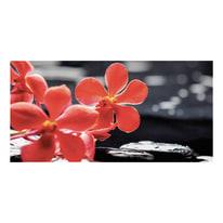 quadro su tela Red flower 60x120