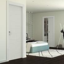 Porta da interno battente Wind silk 80 x H 210 cm dx