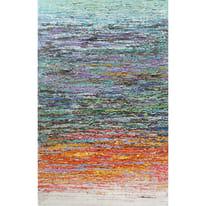 dipinto su tela Astratto blu 90x140
