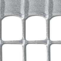 Rete Quadra 20 H 1 x L 3 m argento