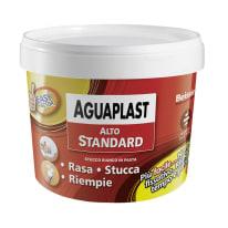 Stucco in pasta Aguaplast Alto Standard liscio bianco 1 kg