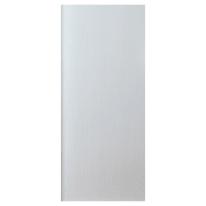 Pannello per porta blindata Renoir MDF laminato bianco L 90 x H 210 cm , spessore 3 mm