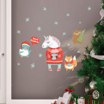 Sticker ML Xmas Unicorn