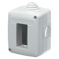 Contenitore da parete Gewiss GEWGW27001 IP40 1 modulo