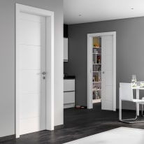 Porta da interno battente Ribera 80 x H 210 cm dx