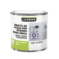 Smalto manounica Luxens all'acqua Viola Elisir 6 satinato 0.5 L