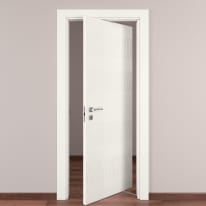 Porta da interno rototraslante Fence bianco 80 x H 210 cm dx