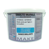 Smalto murale bianco brillante Make 9 L