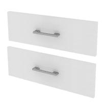 Set 2 cassetti Spaceo bianco L 90 x P 45 x H 32 cm