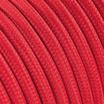 Cavo tessile rosso