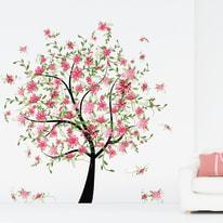 Wall Sticker Giant Flowering tree