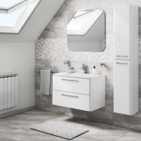 Mobile bagno Best bianco L 81 cm