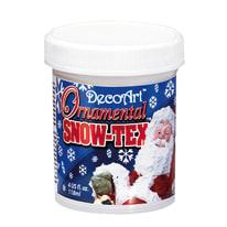 Decorazione Snow Tex bianco 118 ml